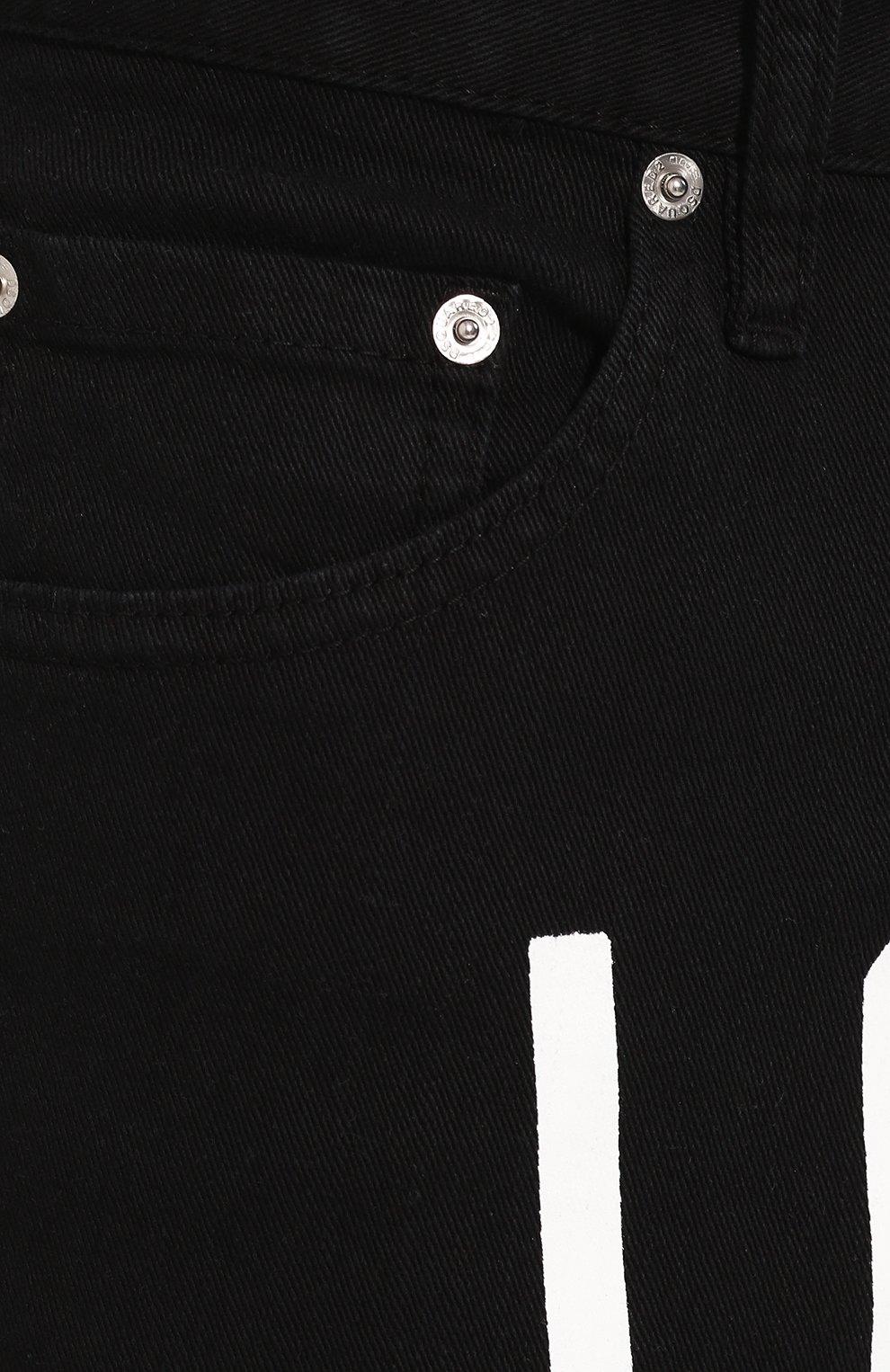 Мужские джинсы DSQUARED2 черного цвета, арт. S79LA0003/S39781 | Фото 5
