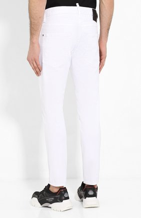 Мужские джинсы DSQUARED2 белого цвета, арт. S79LA0003/S39781 | Фото 4