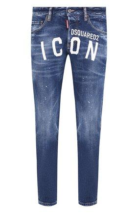 Мужские джинсы DSQUARED2 синего цвета, арт. S79LA0001/S30663 | Фото 1