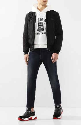 Мужской бомбер DOLCE & GABBANA черного цвета, арт. G90W1T/FUMQG | Фото 2