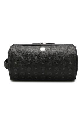 Мужская дорожная сумка MCM черного цвета, арт. MMR ASKC02 | Фото 1