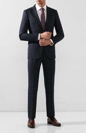 Мужские кожаные дерби BERLUTI коричневого цвета, арт. S5066-001 | Фото 2 (Материал внутренний: Натуральная кожа; Стили: Классический)