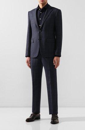 Мужские кожаные монки BERLUTI темно-серого цвета, арт. S5068-001 | Фото 2