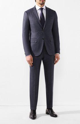 Мужские кожаные оксфорды BARRETT черного цвета, арт. 201U101.1/CERV0 | Фото 2 (Материал внутренний: Натуральная кожа; Статус проверки: Проверена категория; Мужское Кросс-КТ: Броги-обувь; Стили: Классический)