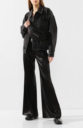 Женские брюки ALEXANDERWANG.T черного цвета, арт. 4WC1204009 | Фото 2