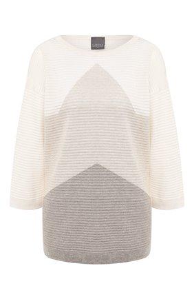 Женский пуловер LORENA ANTONIAZZI бежевого цвета, арт. P2066BM026/2435   Фото 1