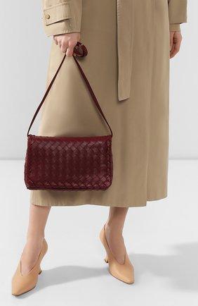 Женская сумка BOTTEGA VENETA бордового цвета, арт. 600519/VCPP1 | Фото 2