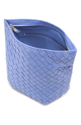 Женская сумка bv twist BOTTEGA VENETA синего цвета, арт. 607964/VCPP0 | Фото 4