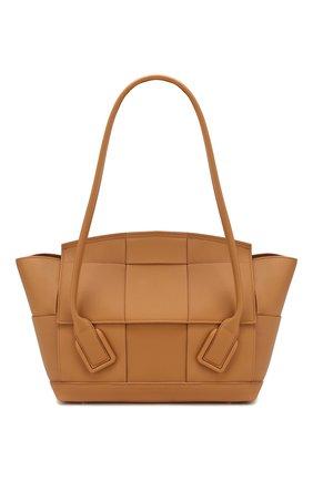 Женская сумка arco 48 BOTTEGA VENETA светло-бежевого цвета, арт. 598244/VCP11 | Фото 1