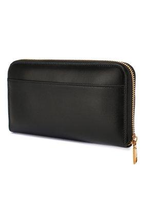 Женские кожаный кошелек DOLCE & GABBANA черного цвета, арт. BI0473/AX121 | Фото 2