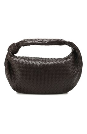 Женская сумка the medium jodie BOTTEGA VENETA темно-коричневого цвета, арт. 600263/VCPP0 | Фото 1