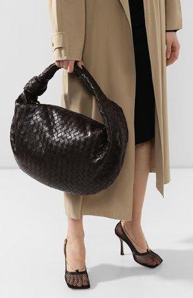 Женская сумка the medium jodie BOTTEGA VENETA темно-коричневого цвета, арт. 600263/VCPP0 | Фото 2