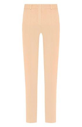 Женские джинсы LORO PIANA бежевого цвета, арт. FAL0451   Фото 1 (Материал внешний: Хлопок; Силуэт Ж (брюки и джинсы): Узкие; Кросс-КТ: Деним; Статус проверки: Проверена категория; Стили: Кэжуэл)
