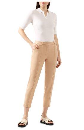 Женские джинсы LORO PIANA бежевого цвета, арт. FAL0451 | Фото 2