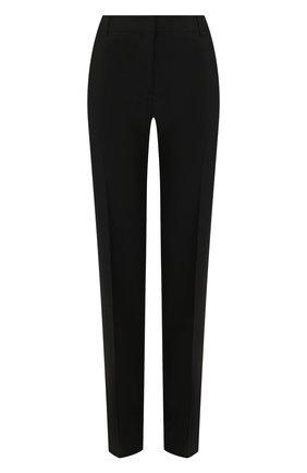 Женские шерстяные брюки VALENTINO черного цвета, арт. TB3RB3R554S   Фото 1