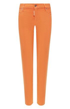 Женские джинсы DSQUARED2 оранжевого цвета, арт. S75LB0303/S44531 | Фото 1