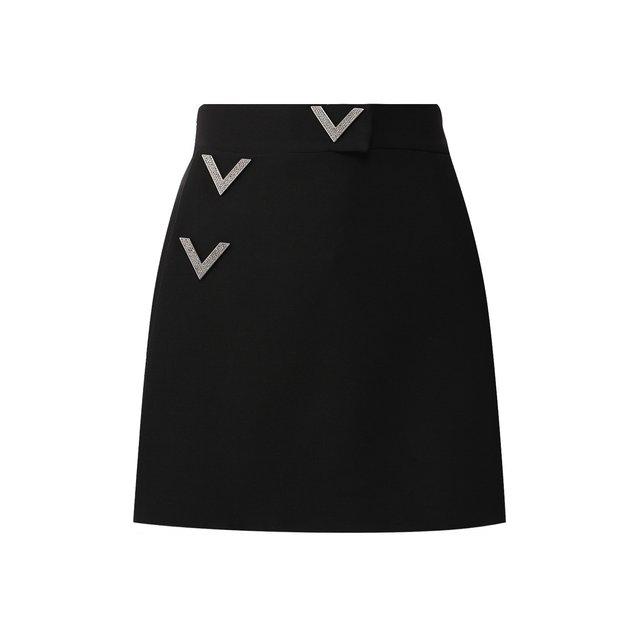 Шорты из смеси шерсти и шелка Valentino
