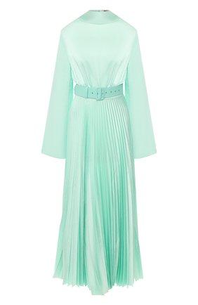 Женское платье с поясом SOLACE зеленого цвета, арт. 0S25093 | Фото 1