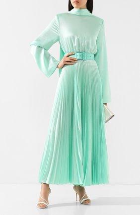 Женское платье с поясом SOLACE зеленого цвета, арт. 0S25093 | Фото 2