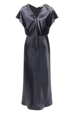Женское платье-миди VINCE синего цвета, арт. V630251101 | Фото 1