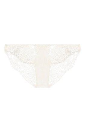 Женские трусы-слипы LA PERLA белого цвета, арт. 0041880 | Фото 1