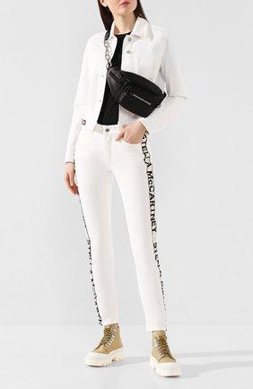Женские джинсы STELLA MCCARTNEY белого цвета, арт. 372773/SNH57 | Фото 2