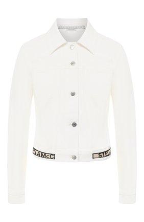 Женская джинсовая куртка STELLA MCCARTNEY белого цвета, арт. 600260/SNH60 | Фото 1