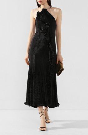 Женское платье-миди GALVAN LONDON черного цвета, арт. 1802 PIR0UETTE DRESS | Фото 2