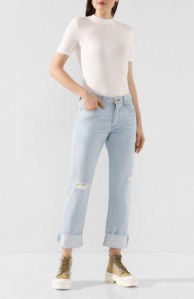 Женская футболка RAG&BONE белого цвета, арт. WCC19HT002UQ02 | Фото 2