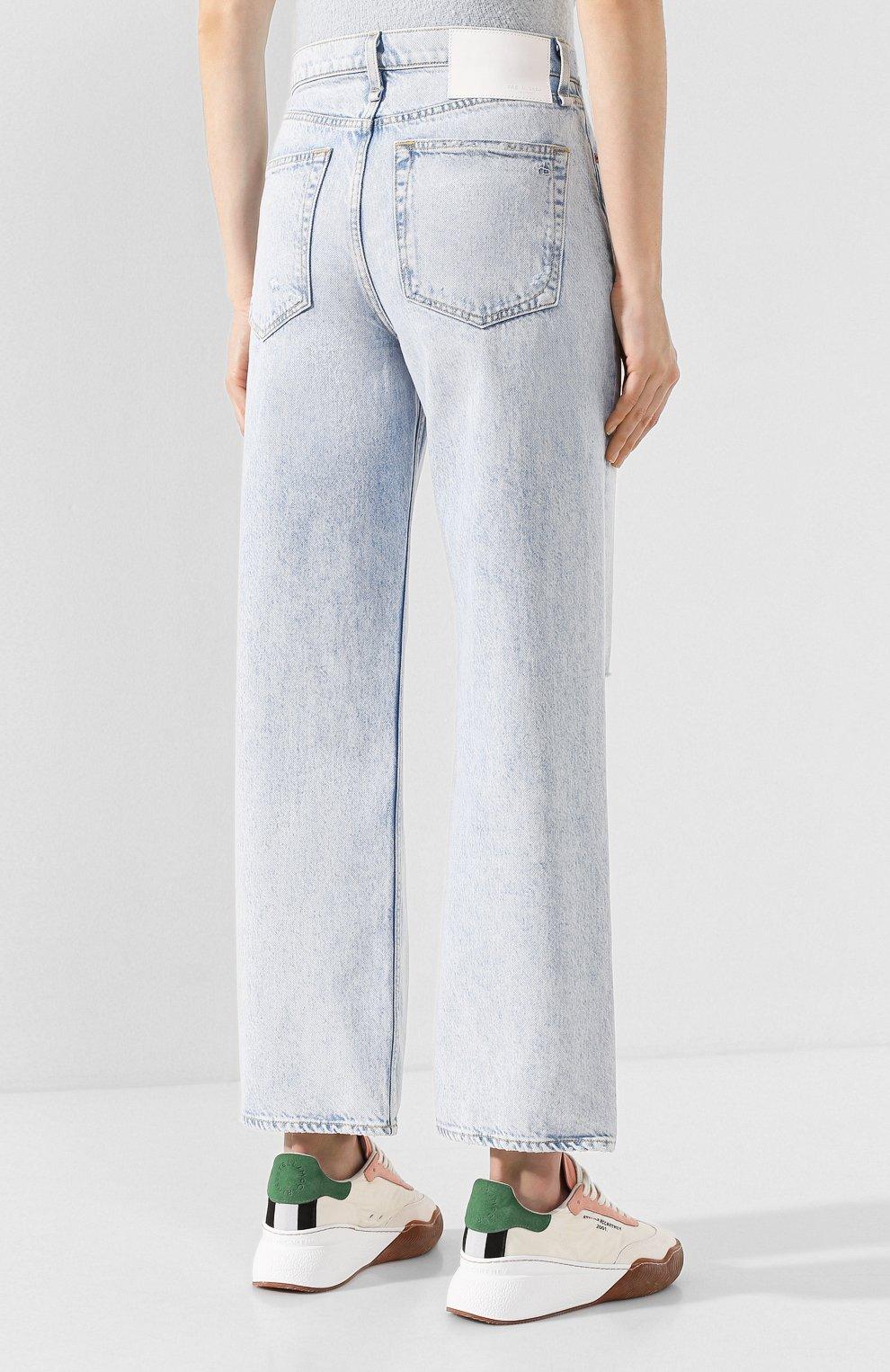 Женские джинсы RAG&BONE голубого цвета, арт. WDD19H2665B1NG   Фото 4