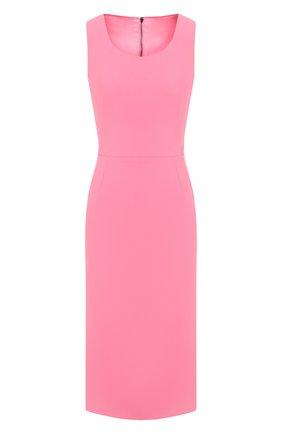 Женское платье DOLCE & GABBANA розового цвета, арт. F6F2KT/FURDV | Фото 1