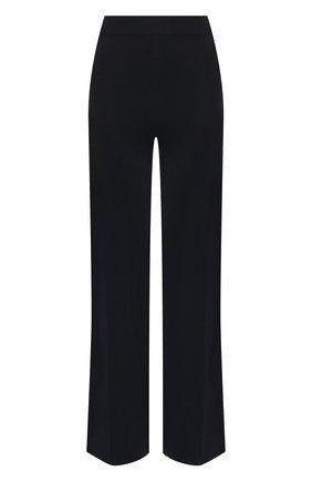 Женские брюки из смеси шелка и хлопка LORO PIANA темно-синего цвета, арт. FAI9456 | Фото 1