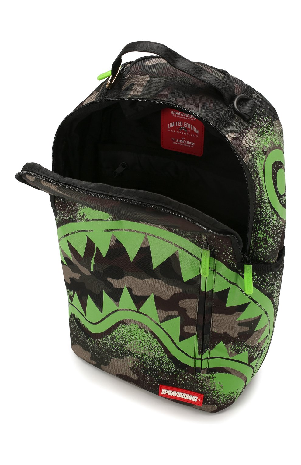 Детская рюкзак SPRAYGROUND хаки цвета, арт. 910B1509NSZ | Фото 3