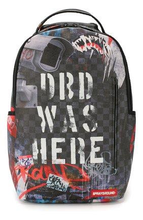 Детская рюкзак SPRAYGROUND серого цвета, арт. 910B1875NSZ | Фото 1