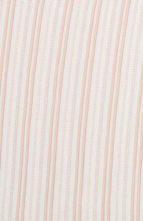 Детского хлопковое одеяло LORO PIANA розового цвета, арт. FAI9474 | Фото 2