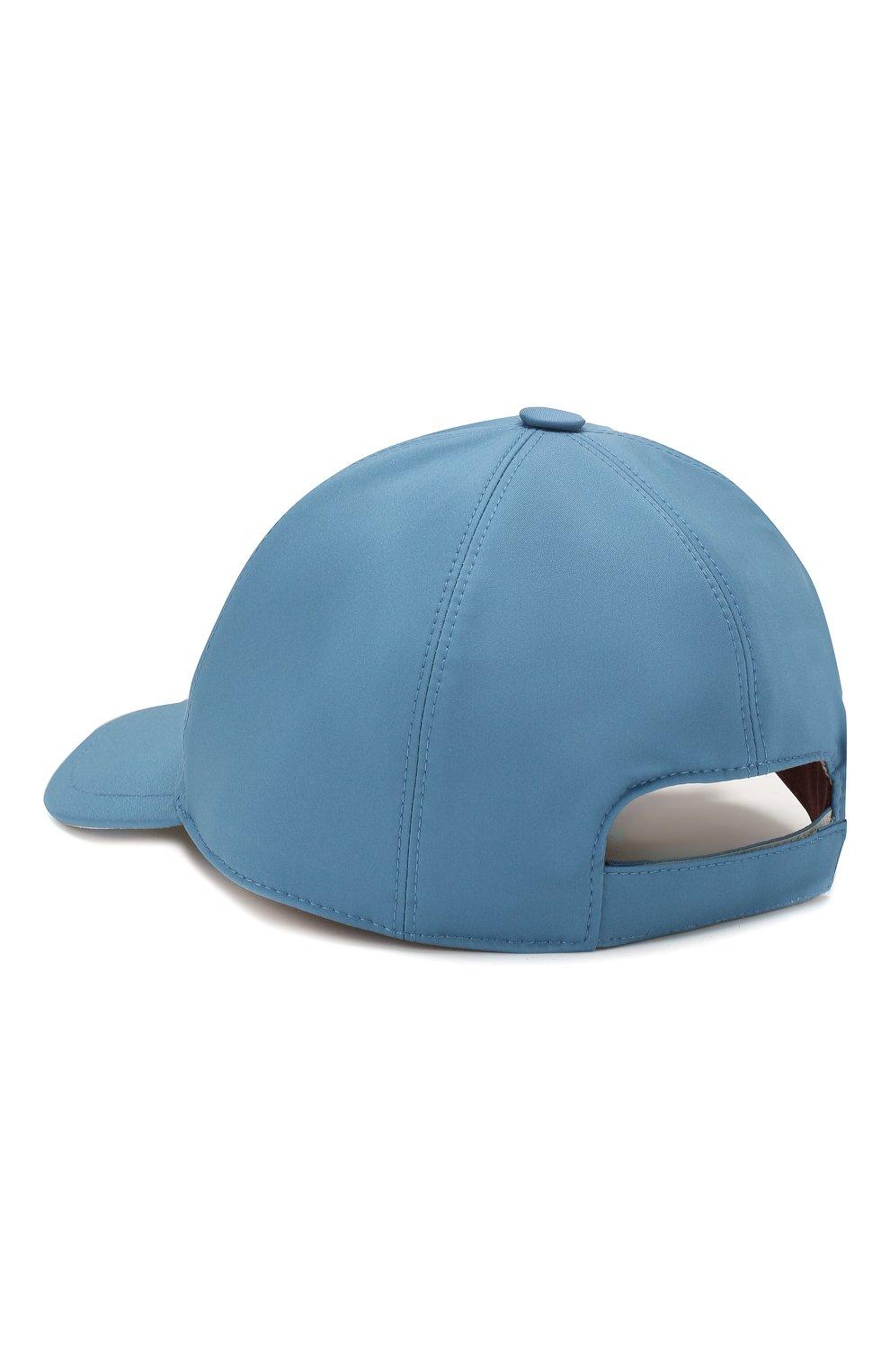 Детская бейсболка LORO PIANA голубого цвета, арт. FAE8580   Фото 2