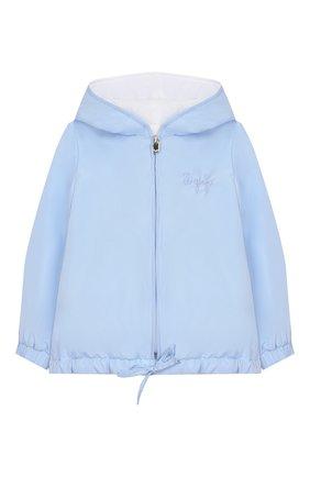 Детского ветровка IL GUFO голубого цвета, арт. P20GR004N0001/12M-18M | Фото 1