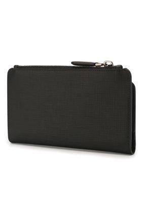 Мужская кожаный футляр для документов ERMENEGILDO ZEGNA черного цвета, арт. E1438J-LHJAK | Фото 2