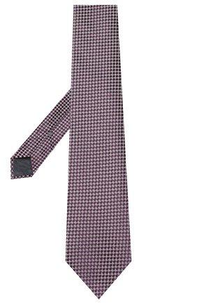 Мужской шелковый галстук ERMENEGILDO ZEGNA фиолетового цвета, арт. Z7E62/1UM | Фото 2