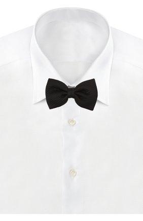 Мужской шелковый галстук-бабочка BRIONI черного цвета, арт. 01L200/PZ416 | Фото 2