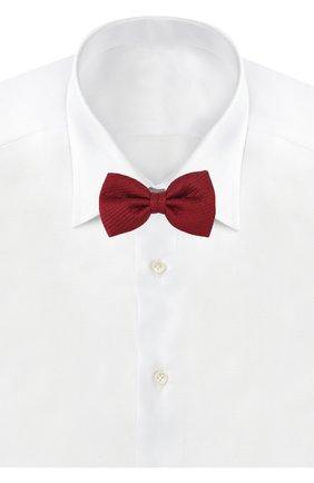 Мужской шелковый галстук-бабочка BRIONI красного цвета, арт. 01L200/PZ416 | Фото 2