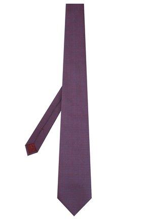 Мужской шелковый галстук BRIONI фиолетового цвета, арт. 062I00/P9445 | Фото 2
