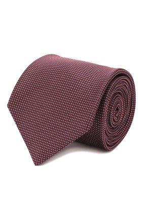 Мужской шелковый галстук BRIONI красного цвета, арт. 062I00/P9486 | Фото 1