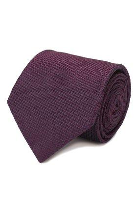 Мужской шелковый галстук BRIONI фиолетового цвета, арт. 062I00/P9487 | Фото 1