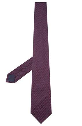 Мужской шелковый галстук BRIONI фиолетового цвета, арт. 062I00/P9487 | Фото 2