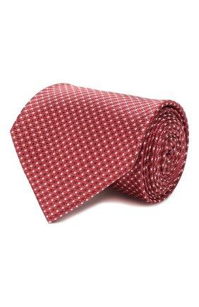 Мужской шелковый галстук BRIONI красного цвета, арт. 062I00/P9488 | Фото 1
