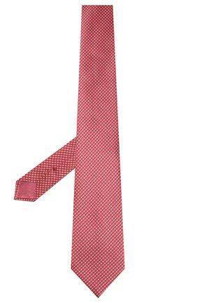Мужской шелковый галстук BRIONI красного цвета, арт. 062I00/P9488 | Фото 2