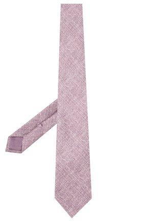 Мужской комплект из галстука и платка BRIONI сиреневого цвета, арт. 08A900/P940B | Фото 2