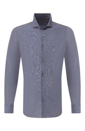 Мужская хлопковая сорочка CORNELIANI темно-синего цвета, арт. 85P012-0111239/00 | Фото 1