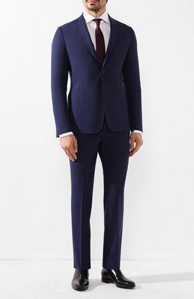 Мужской шерстяной костюм Z ZEGNA синего цвета, арт. 724741/2XPYGX | Фото 1